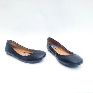 Lucky Brand Women's Shoes Black Ballerina Flats